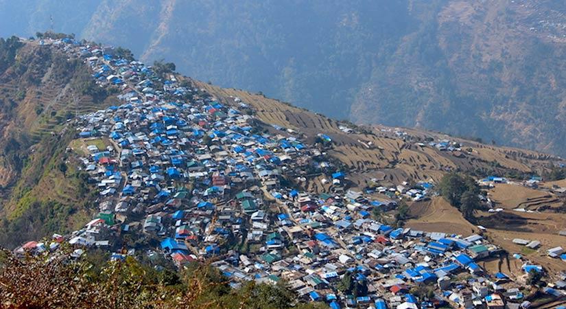 Big and nice Barpak Village in Gorkha