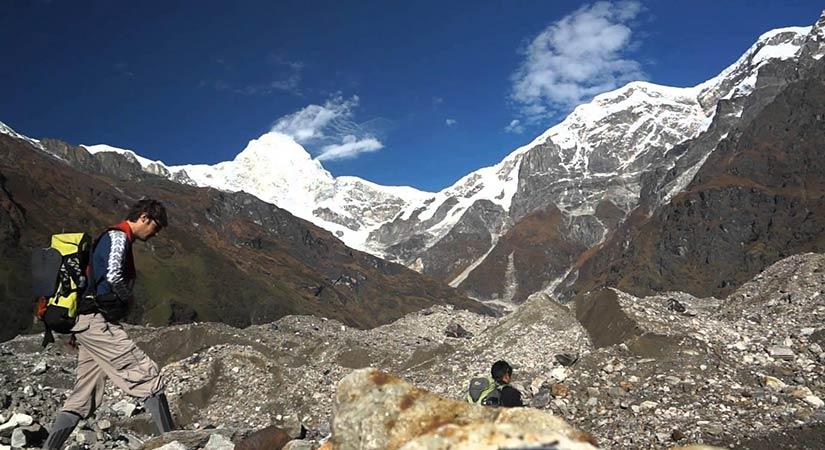 Buddha Himal Base in Rupinala Trekking