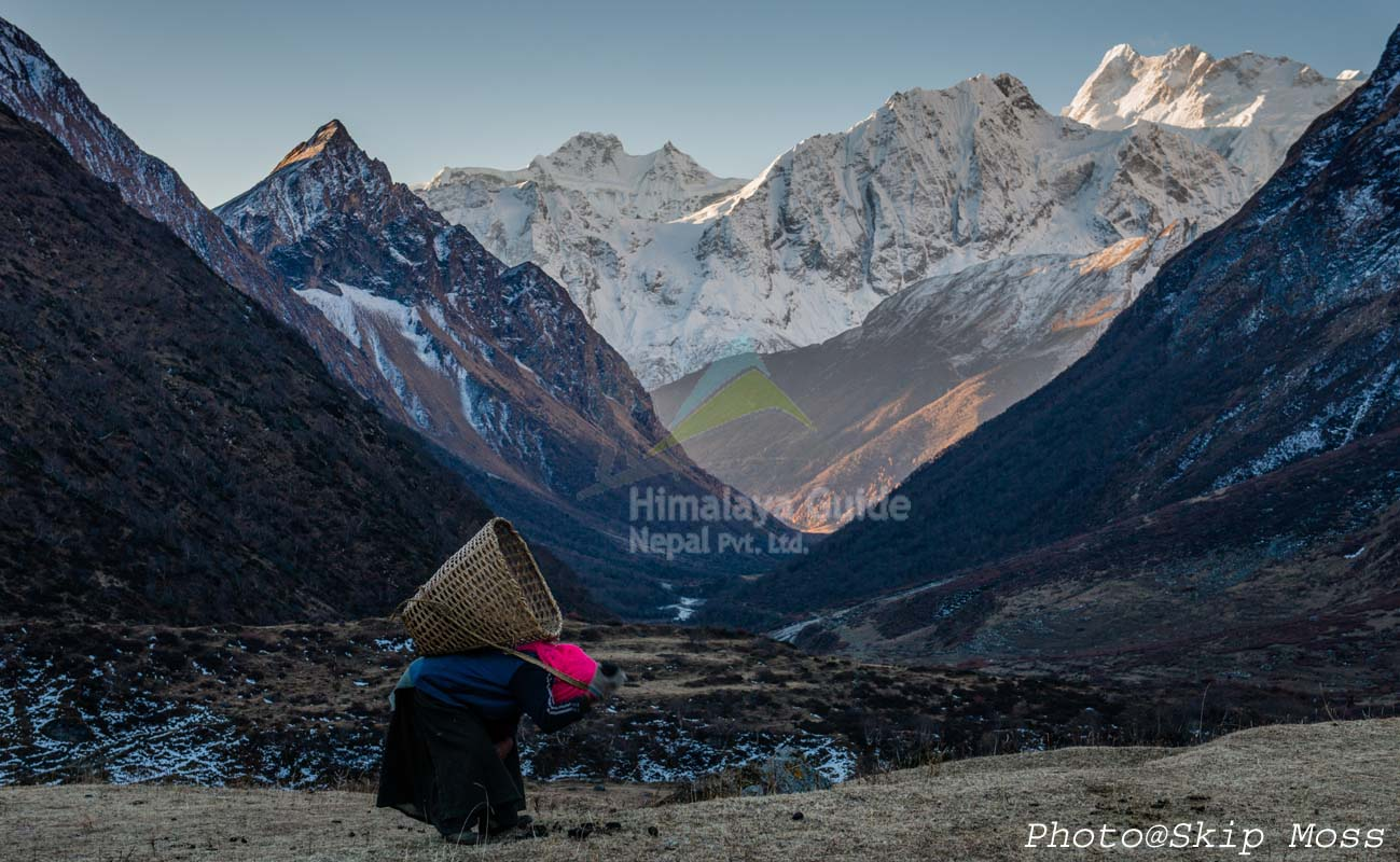 Such a nice mountains during the Manalsu trek and Expedition