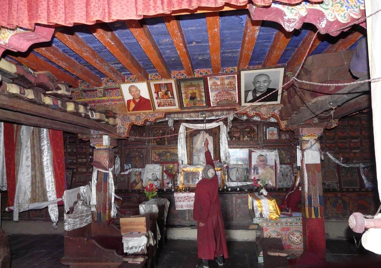 Budhist religion in Tsum valley